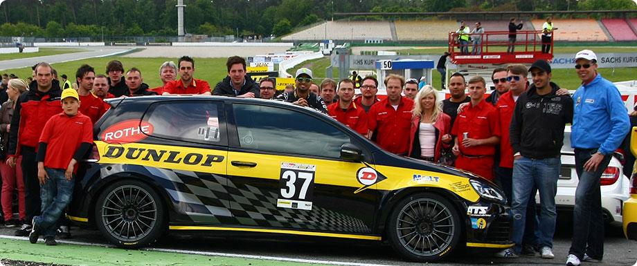 Das Team von Rothe Motorsport